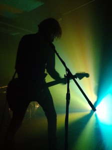 A Place To Bury Strangers at The Garrison, photo by Nyssa Komorowski
