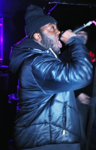 Rich Kidd performing with The Names are Known at The Crawford