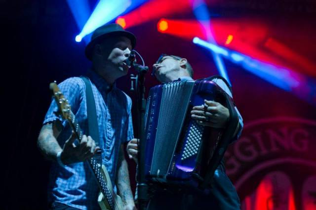 Flogging Molly performing at the 2013 TURF festival, via TURF's Facebook page/Jeff Ross.