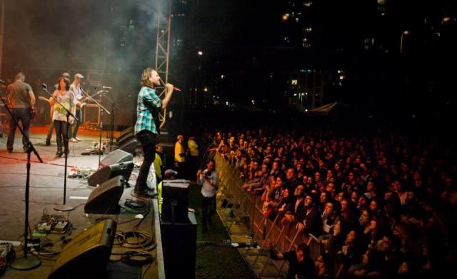 Broken Social Scene performing at the 2013 Field Trip festival, via Field Trip's Facebook page.