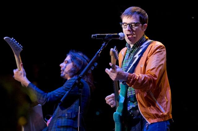 Weezer at RBC Bluesfest 2013, via Bluesfest Digital Lounge/Wayne Cuddington for Ottawa Citizen