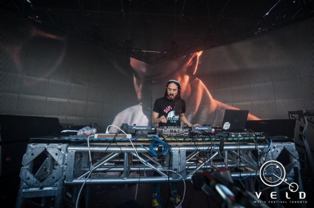Steve Aoki at the 2013 Veld Music Festival, via Veld Official Media/Visualbass Photography