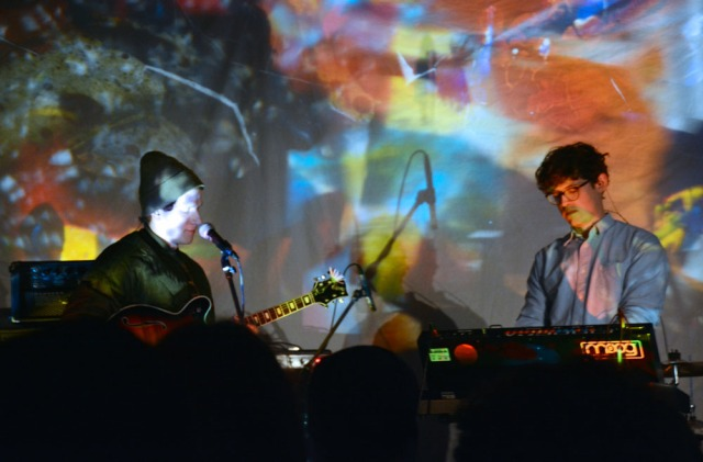 Ginla performing at The Garrison. Photo by Emily Scherzinger.
