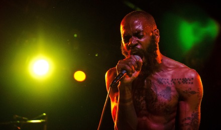 Refused and Death Grips Perform At The Glass House